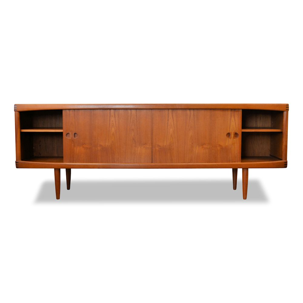 H.W. Klein for Bramin Møbler Sideboard - doors open