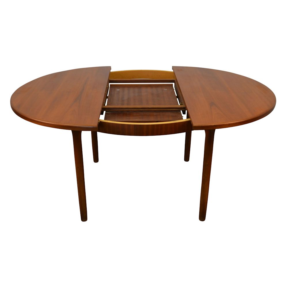 Vintage Midcentury Modern G-Plan Dining Table - extension system