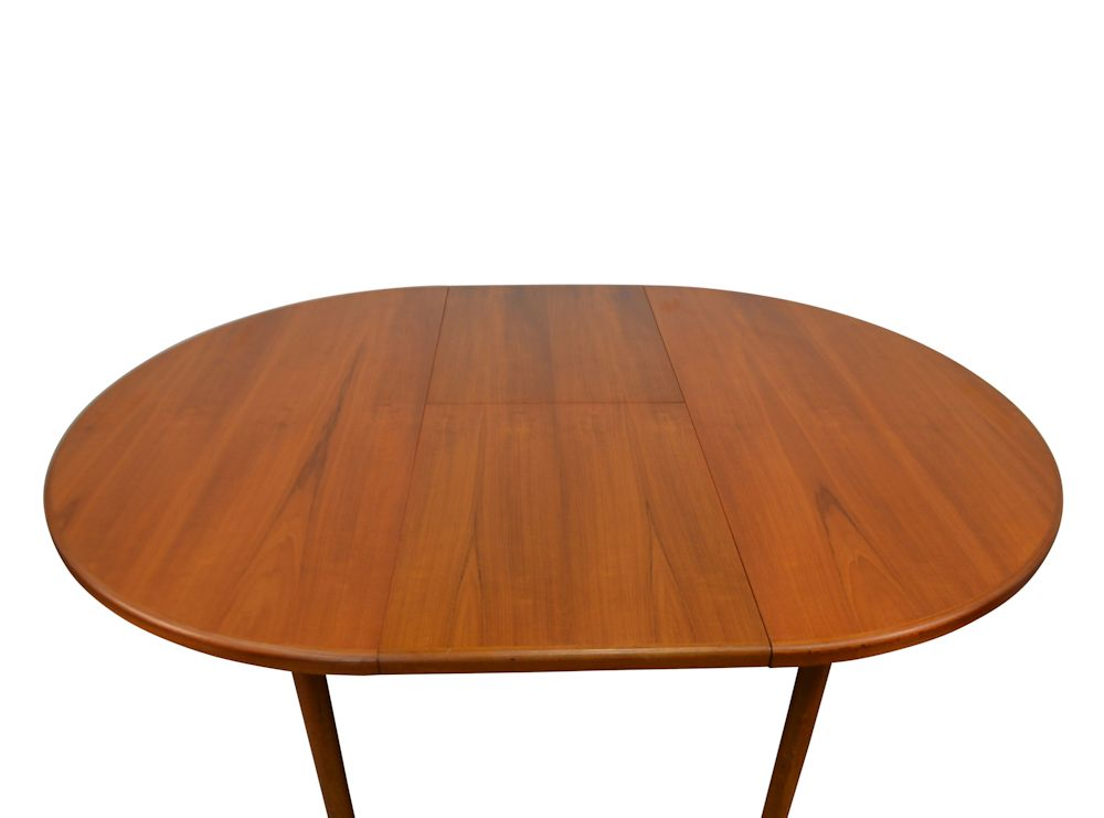 Vintage Midcentury Modern G-Plan Dining Table - top