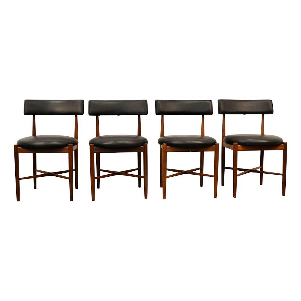 Deense stijl G-Plan teak stoelen