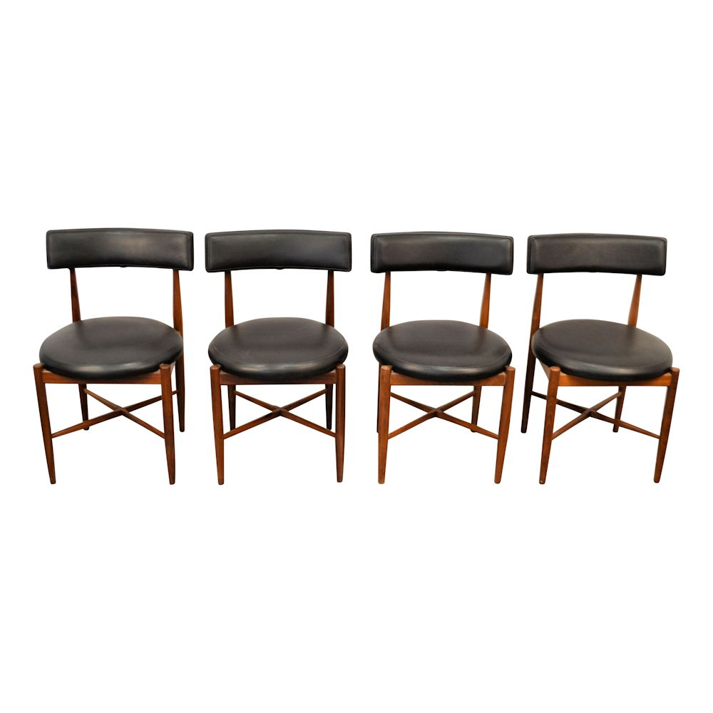 Midcentury Modern G-Plan Dining Chairs - front