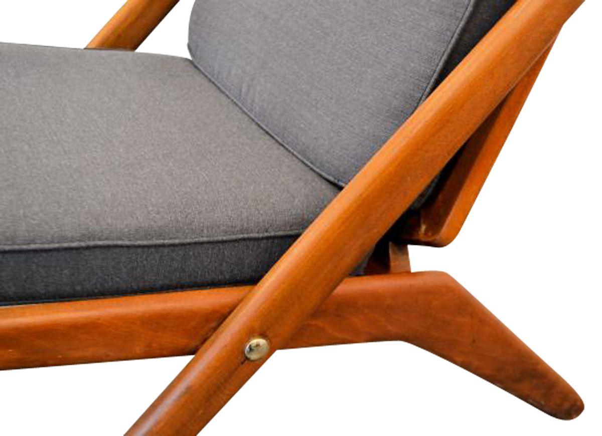Vintage Arne Hovmand Olsen teak stoelen