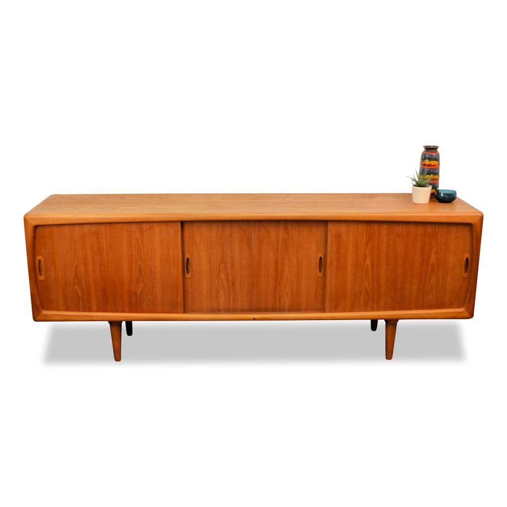 Vintage Deens design dressoir van H.P. Hansen