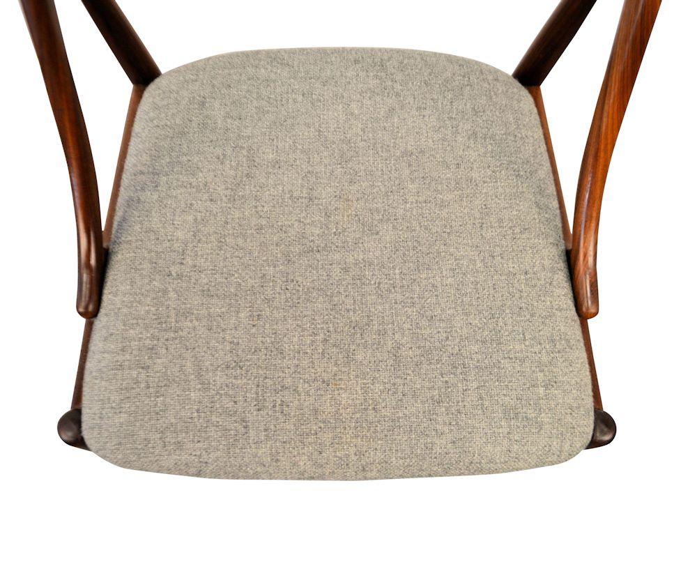 Danish Modern Johannes Andersen Dining Chairs - upholstery
