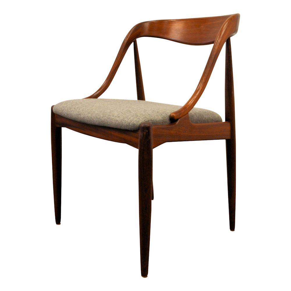 Danish Modern Johannes Andersen Dining Chairs Vintage Vibes