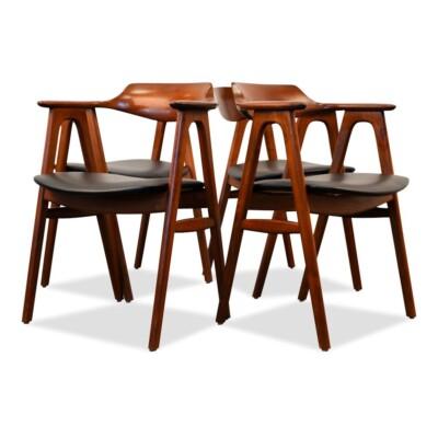 Danish Modern Erik Kirkegaard Dining Chairs