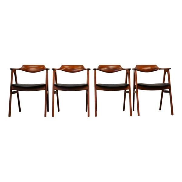 Erik Kirkegaard teak armleuning stoel