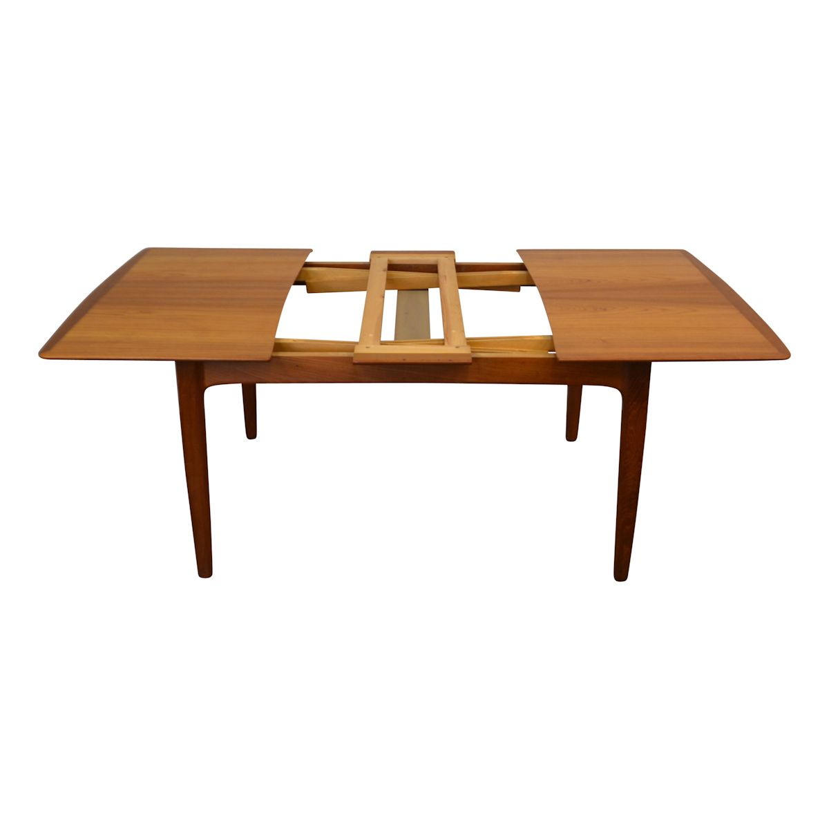 Vintage Danish Modern Svend Aage Madsen Dining Table - extension system