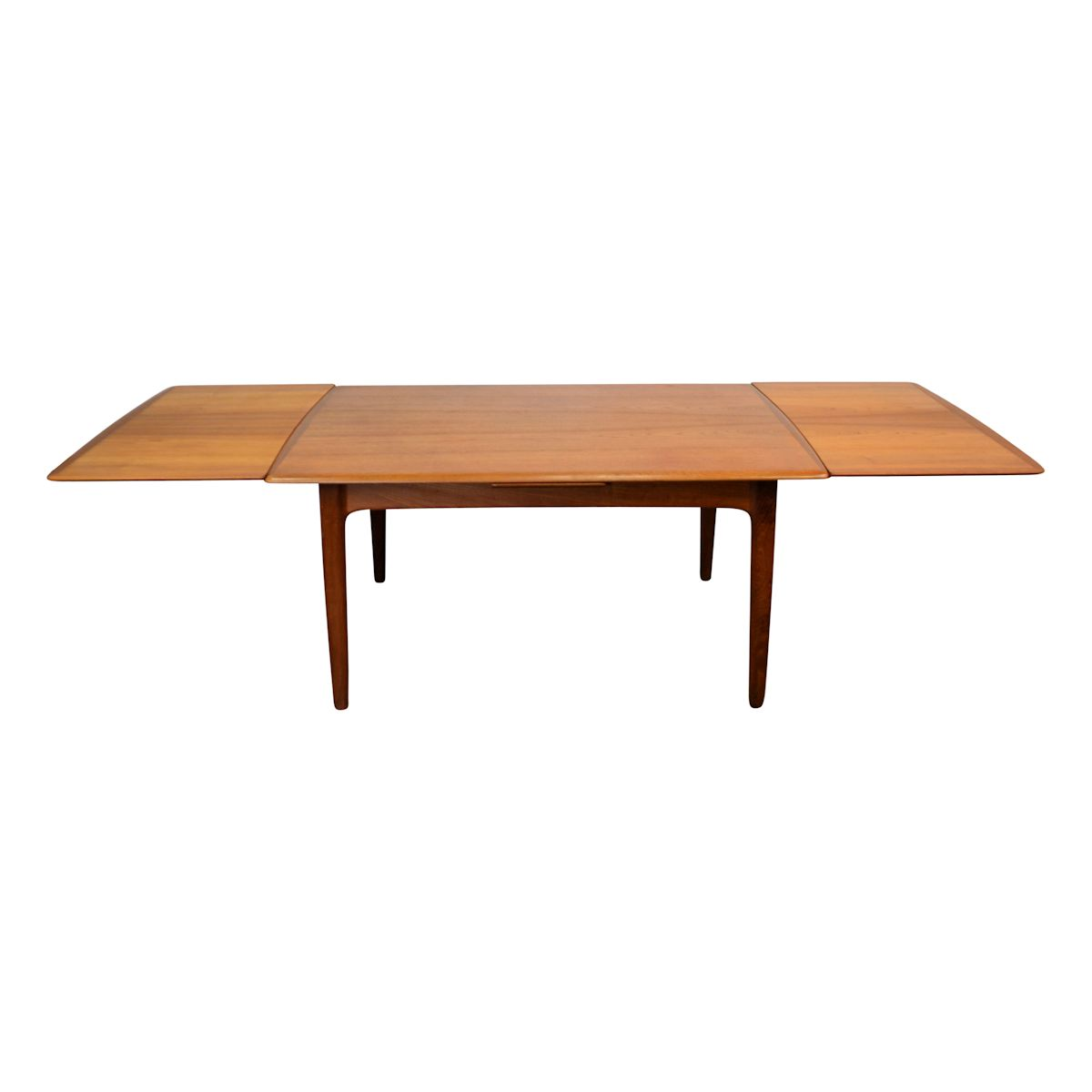 Vintage Danish Modern Svend Aage Madsen Dining Table - extended