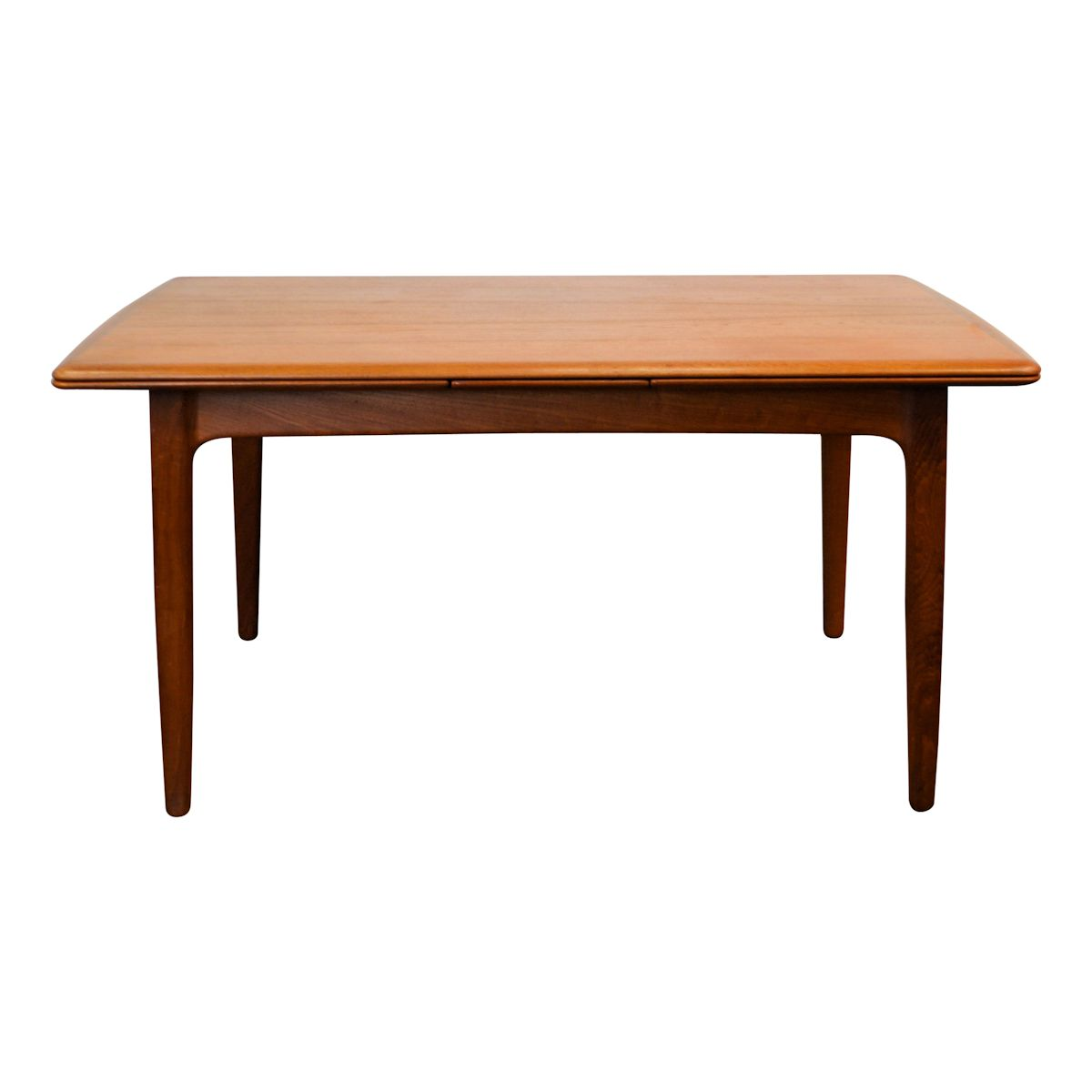 Vintage Danish Modern Svend Aage Madsen Dining Table - front and top
