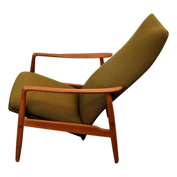 Vintage Vintage Søren J. Ladefoged teak relax fauteuil