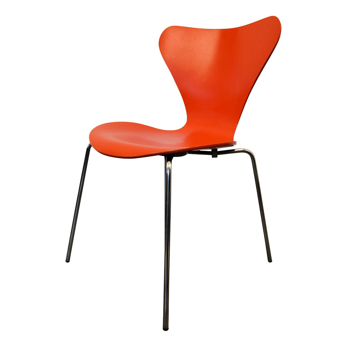 Model 3107 Butterfly Chairs by Arne Jacobsen - detail backrest