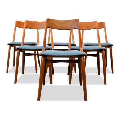 Vintage Model no. 370 Boomerang Alfred Christensen Dining Chairs