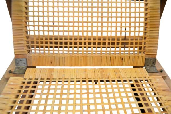 Vintage Børge Mogensen eiken fauteuil - detail