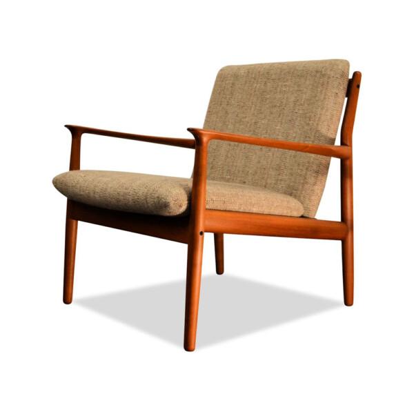 Grete Jalk Deens design teak fauteuil