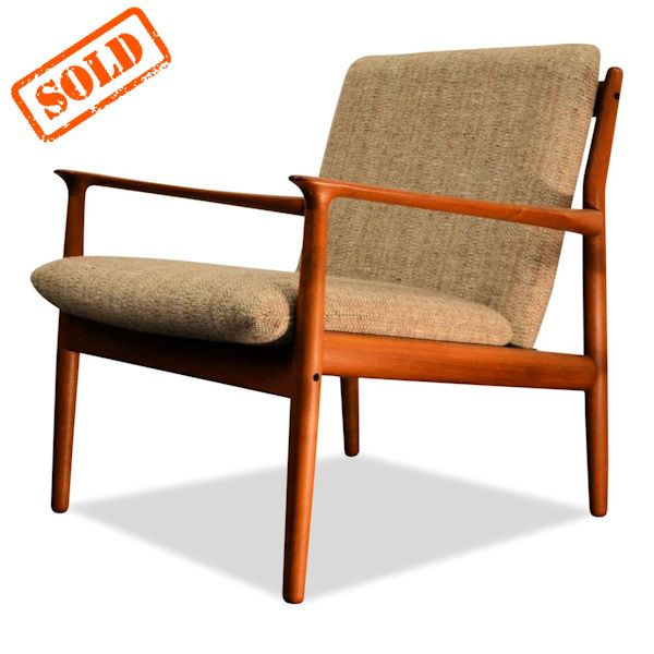 Modern Design Fauteuil.Danish Modern Lounge Chairs By Grete Jalk Vintage Vibes