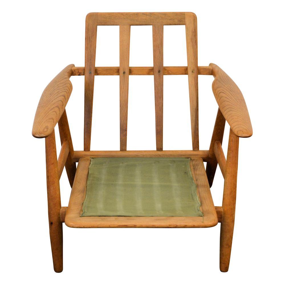 Hans J. Wegner Lounge Chair Model GE 240 U201cCigaru201d   Frame
