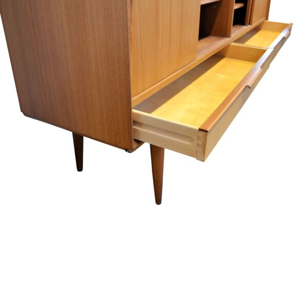 Omann Jun. teak highboard (detail)