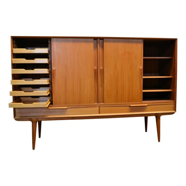 Omann Jun. teak highboard