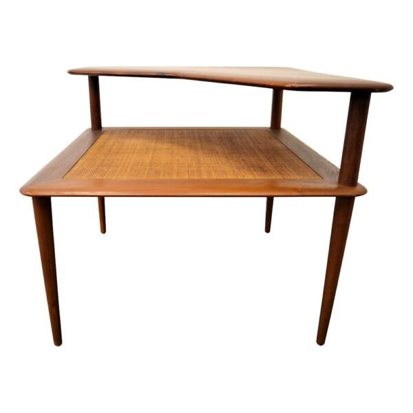 """Hvidt & Mølgaard """"Minerva"""" teak tafel (detail)"""