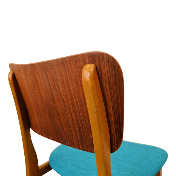 Vintage Boltinge Støle Møbelfabrik Dining Chairs - detail backrest