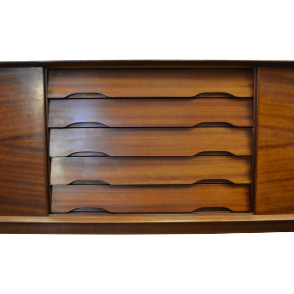 Vintage Henry Rosengren Model N65 Sideboard - drawers