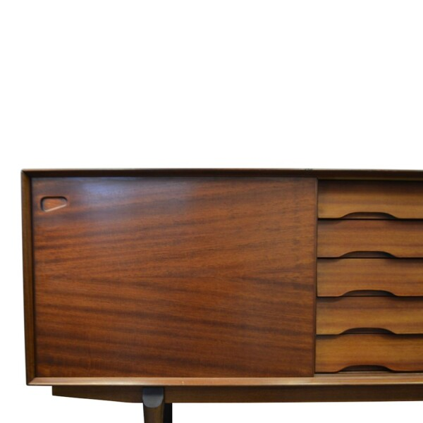 Vintage Henry Rosengren Model N65 Sideboard - left
