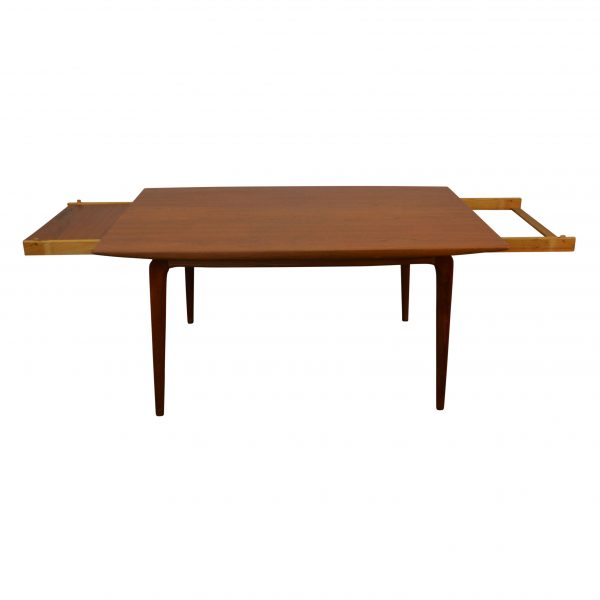Vintage Model #371 Alfred Christensen Dining Table - extended