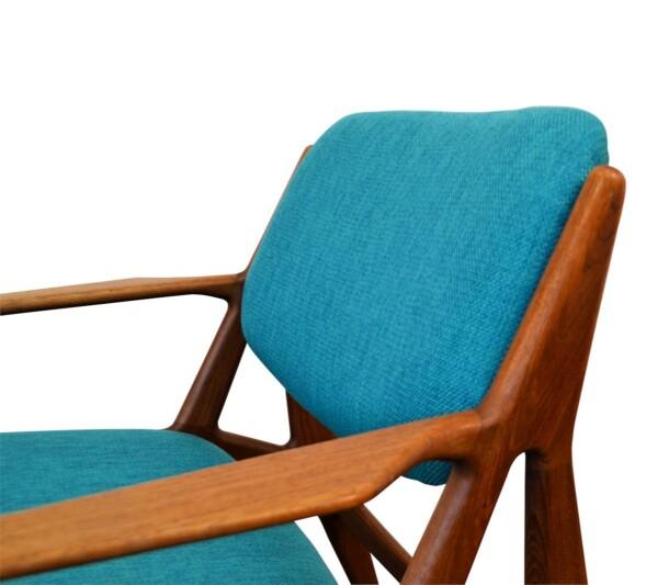 Arne Vodder teak lounge stoel