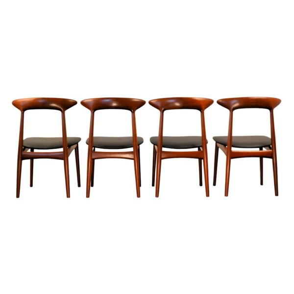 Vintage Dining Chairs Designed by Kurt Østervig - back
