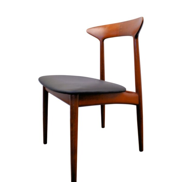 Vintage Dining Chairs Designed by Kurt Østervig - side