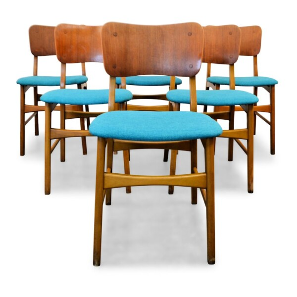 Vintage Danish Boltinge stoelen
