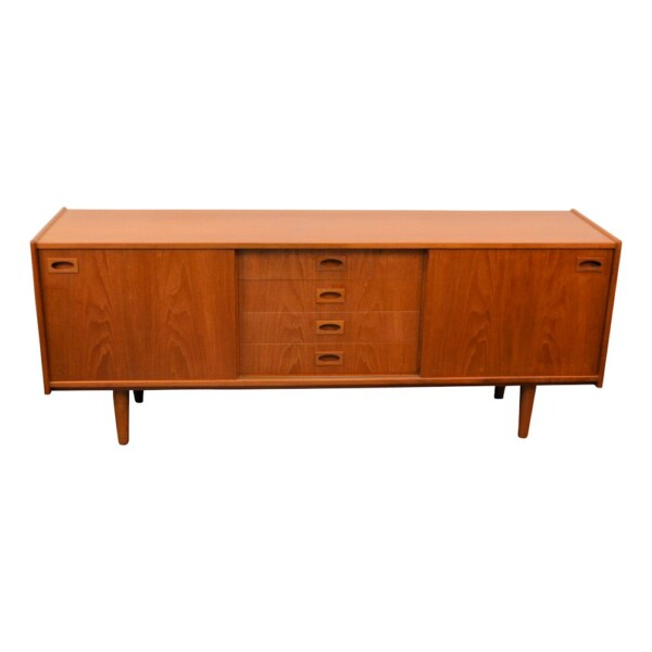 Vintage Teak Mogens Kold Sideboard - front and top