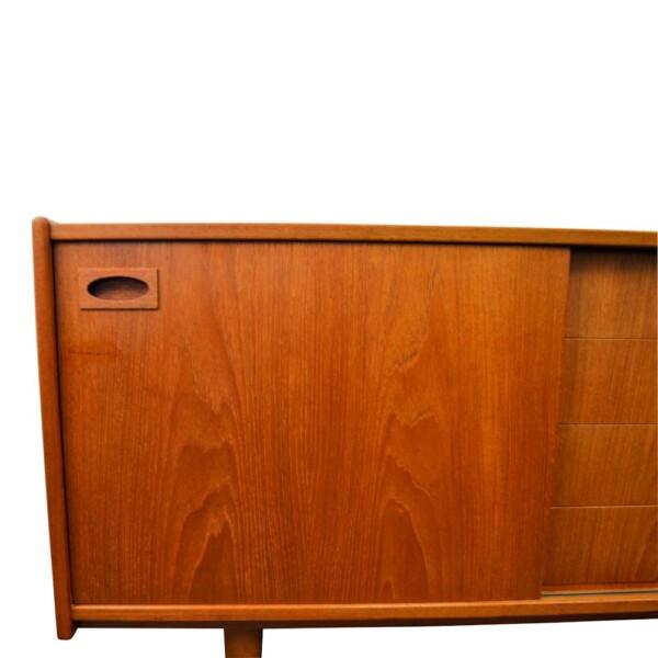 Vintage Teak Mogens Kold Sideboard - door left