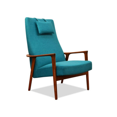 Vintage Teak Lounge Chair by Brödera Andersson