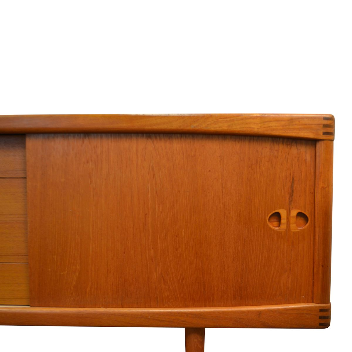 vintage sideboard teak from h w klein for bramin. Black Bedroom Furniture Sets. Home Design Ideas