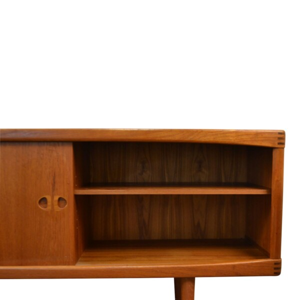 Vintage Bramin Sideboard by H.W. Klein - right door open