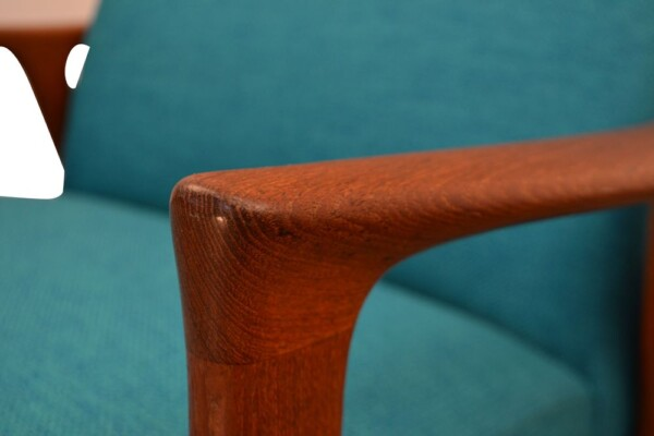 Vintage Teak Lounge Chair by Brödera Andersson - detail