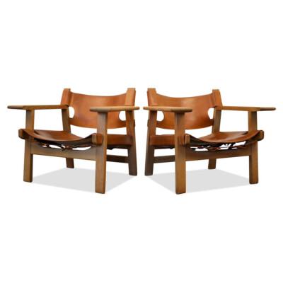 Vintage Spanish Chairs by Børge Mogensen