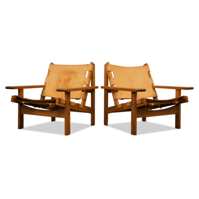 Vintage Lounge Chairs by Erling Jessen