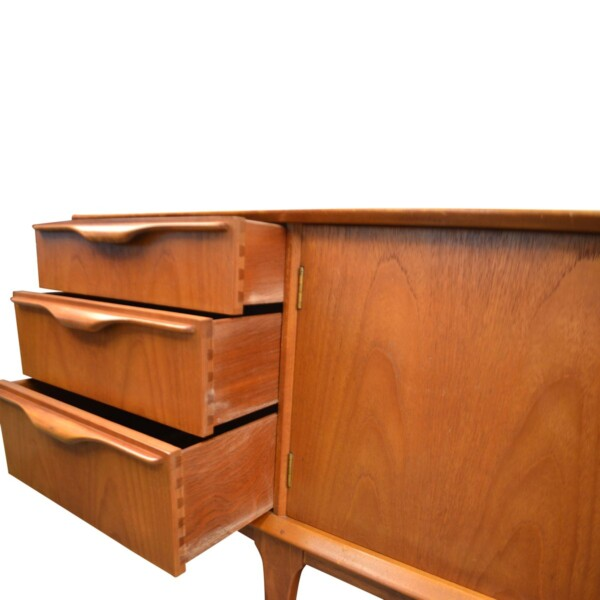 Vintage Teak McIntosh & Co Style Teak Sideboard - drawers open