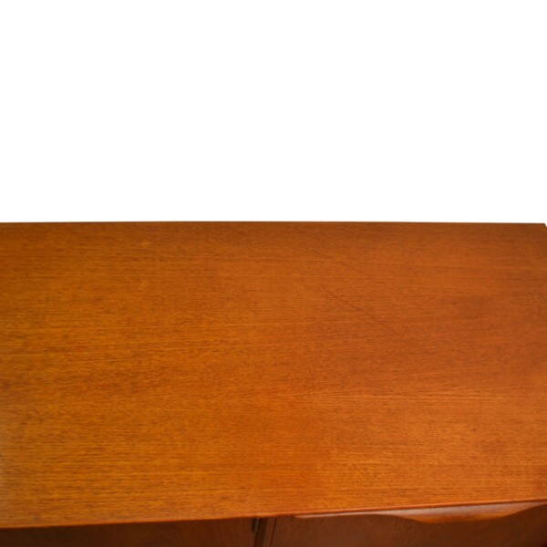 Vintage Teak McIntosh & Co Style Teak Sideboard - top