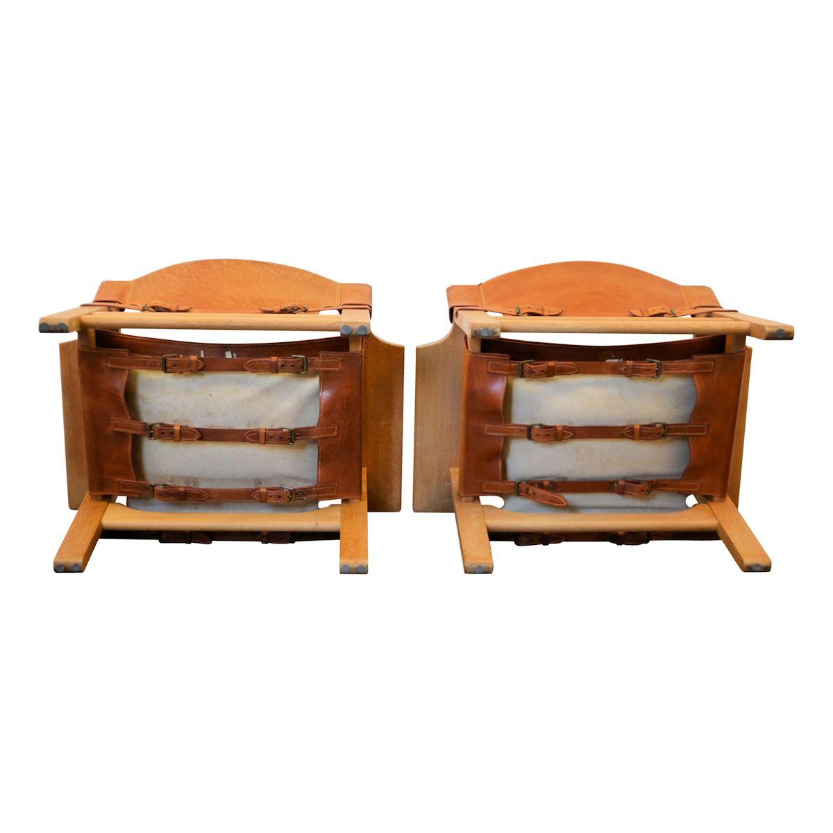 Vintage Spanish Chairs By Børge Mogensen   Detail