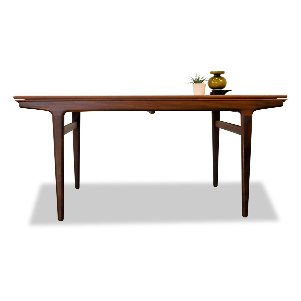 Vintage Teak Dining Table by Johannes Andersen