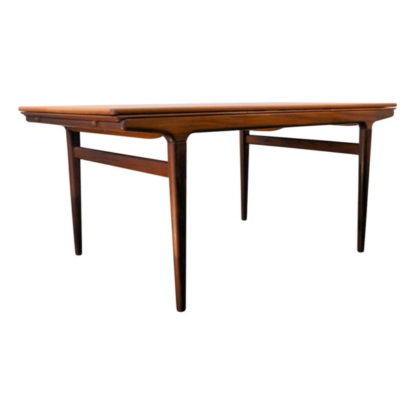 Vintage Teak Dining Table by Johannes Andersen - side