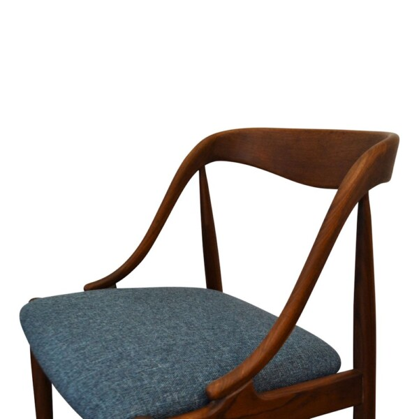 Vintage Teak Dining Chairs by Johannes Andersen - detail