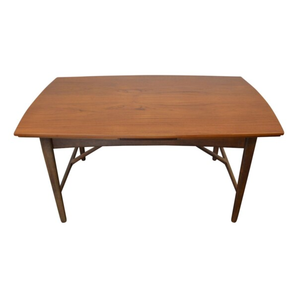 Vintage Svend Aage Madsen teak dining table - top