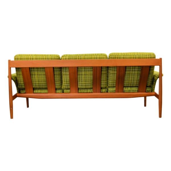 Vintage Teak Sofa by Grete Jalk - back