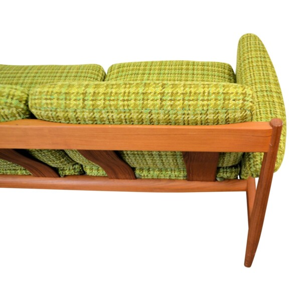Vintage Teak Sofa by Grete Jalk - detail