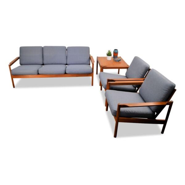 Vintage Seating Combination by Kai Kristiansen